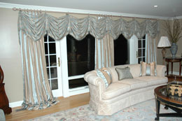Custom Curtains and Drapes